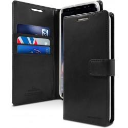 Samsung Galaxy A50/50S/30S Mercury Goospery BlueMoon Hülle / Etui / Taschen - Schwarz Online Shop - 1